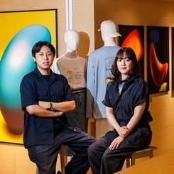 에잇세컨즈, 신진 아티스트 '레이버스·틈'과 협업