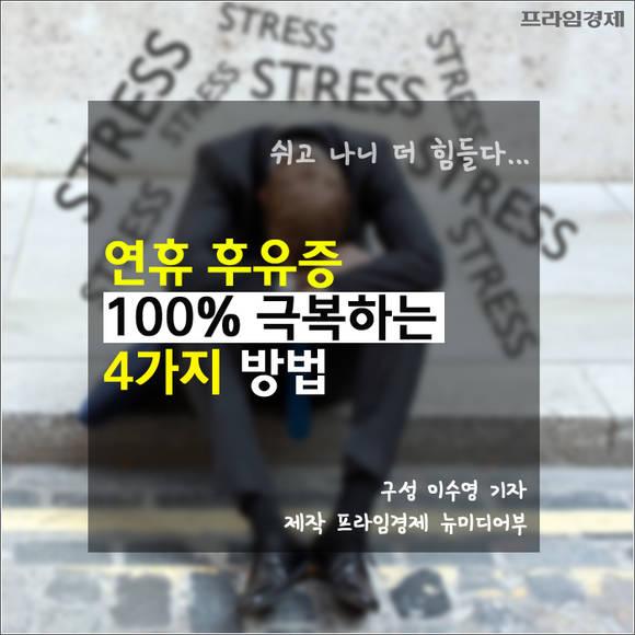 [카드뉴스] 연휴 후유증 100% 극…