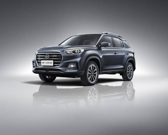 현대차, 중국 전략형 SUV '신형 ix35' 선봬
