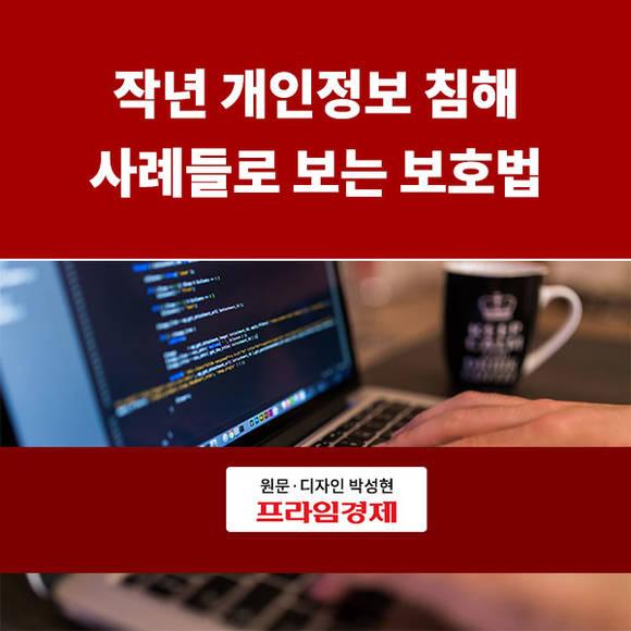[카드뉴스] 작년 개인정보 침해 사…
