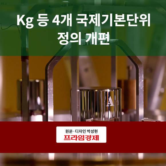 [카드뉴스] Kg 등 국제기본단위…