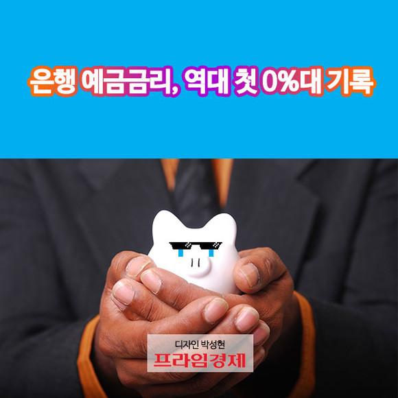 [카드뉴스] 은행 예금금리, 역대…